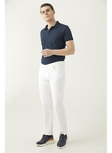 D'S Damat Ds Damat Beyaz Düz Chino Pantolon Beyaz